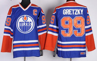 Wholesale Hockey Jersey Wayne Gretzky jersey name number Stitched