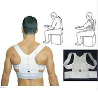 Wholesale Magnet Therapy Posture Support Back Shoulder Corrector Brace Belt Adjustable
