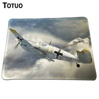 best computer locks - Hot Sale thunderbolt jet aircraft Mouse Pad Soft Silicone Best Durable Lock Edge Gaming Optical Computer Mouse Mat