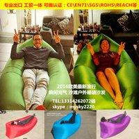 Wholesale 2016 New Product Waterproof Outdoor Sleeping Bag Lightweight Sleeping Bag Lamzac Hangout Fast Filling Kaisr bag fatboy