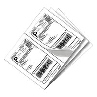adhesive lables - 1000 Premium Shipping Labels lables Per Sheet x Self Adhesive
