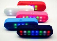 beats pill - Portable LED bluetooth speaker beats Pills wireless subwoofers TF card support FM radio mini camping speakers