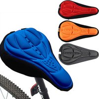 Wholesale Bicycle Bike D Silicone Gel Pad Seat Saddle Cover Soft Cushion F00293 SMA
