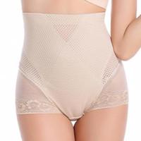 Wholesale New Slimming Women s Shapewear Lace Underwear High Waist Tummy Trimmer Body Shaper Pants Butt Lifter Shaper