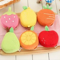 baby bath accessories - Bubble Baby Body Cleaning Cotton Bath Ball Creative Kids Carrot Kawaii Cartoon Fruits Strawberry Bath Sponge Bath Accessories