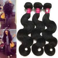Wholesale 100 Virgin Brazilian Body Wave Hair Weave Malaysian Indian Remy Human Hair Extensions Cambodian hair Weft or Bundles Forawme Hair