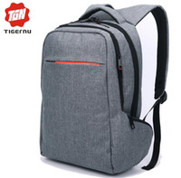 Wholesale 2016 Tigernu Brand Fashion Business Backpack for Men Travel Notebook Backpack Laptop Bag Pattern Backpack for women