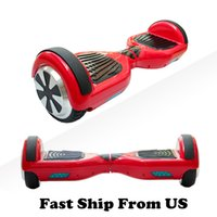 Wholesale Ship From US Scooter Hoverboard Smart Balance Wheel Inch Electric Skateboard Electric Scooter On Sale Price Fast