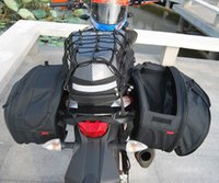 bags singapore - 1 Pair Komine SA Saddle Bags Motorcycle Tail Bag Luggage Bag Saddlebags To Russian Japan Korea Singapore