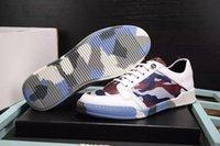 adult shoe soles - Fashion germany brand CAMO colors adult leisure shoes hot sale mens plein anti slip camouflage sole shoes