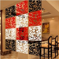 wall dividers - New novelty households Brief hanging screen room divider PP wall decoration hangings muons marriage wall sticker home decor