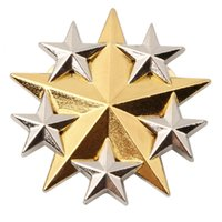 al por mayor estados generales-ESTADOS UNIDOS ESTADOS UNIDOS ARMY SEIS ESTRELLAS ESTRELLA GENERAL METAL HAT BADGE -34059