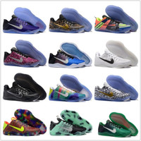 Wholesale Authentic Children Kids Cheap Basketball Shoes Men Kobe XI Low Sneakers Good Quality Hot Sale KB11 Discount Sports Shoes Size