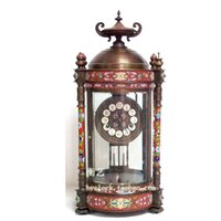 antique mantel clocks - Watch Antique Watches mantel clock Continental mechanical watches blue pavilion