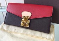 Wholesale Hotsale Top quality women genuine Leather Pallas wallet hand purse