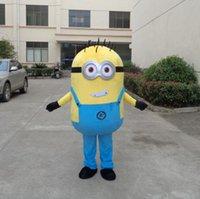 adulto nuova progettata me spregevole costumi servitori cartone animato mascotte blu per partito buon trasporto libero di qualità su misura