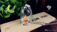 Wholesale 2sets x25mm tube glass bottle tube glass globe glass vial necklace pendant fashion jewelry diy findings supply glass dome charms