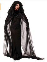 Wholesale Halloween The soul of Female Ghost Cosplay Witch Vampire Costume Unifom Clothes wedding dresses halloween
