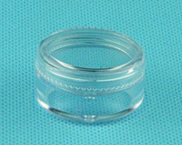 Wholesale 5ML G Transparent Cream Jar ml Clear Plastic jar empty cosmetic containers