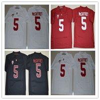 Wholesale 2016 New Mens Season Stanford Cardinal Jerseys Christian McCaffrey Jersey High Red Black White Stitched College Football Jerseys