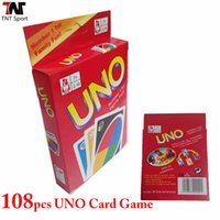 Wholesale 1 Set UNO Playing Cards Poker Family Fun Game Playing Cards L341