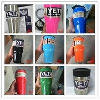 Wholesale YETI oz Rambler Tumbler Cup Vehicle Beer Mug Double Wall Bilayer Vacuum Insulated ml Stainless Steel large capacity