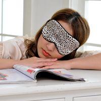 beautiful rest - Sleep Eye Mask Portable Soft Travel Cover Eye Patch Rest Aid Comfort Eyeshade skill Vision Care fashion for beautiful girl Sleep Masks leop