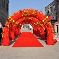 Wholesale Wedding props m factory direct wedding arches Inflatable inflatable arch gate gas