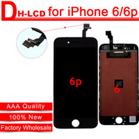 alibaba - Alibaba China High Quality For iPhone Plus LCD Screen Touch Digitizer Assembly Inch Cold Press Frame AAA No Dead Pixel Free Ship