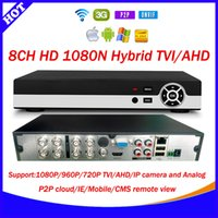 Wholesale HD CH N Fps recording TVI AHD DVR Recorder H CCTV security Standalone Digital Network channel Xmeye Cloud P2P DVR