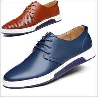 Wholesale 2016 new men s casual shoes British wind tide male Korea business leather shoes men s shoes AA0662