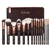 Wholesale ZOEVA Makeup Brushes Set Foundation Powder Eye Complete Set Pennelli Face Eye Brush Eyeshadow Eyeliner Makeup Kit