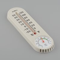 Wholesale Household Thermometer Hygrometer Wall mounted Temperature Temp Humidity Meter