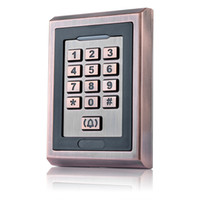 access user manual - New Door Mirror RFID Reader Standard Users Metal Password keypad Access Controller With English Manual Golden F1207