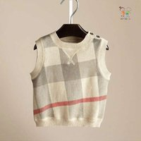 Wholesale new arrival boy winter clothes kid soft high quality boy vest sweater size years old