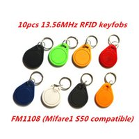 abc key - Waterproof ABC RFID Tag keyfob Keychain Key Finder MHz Access Control Card NFC Tags MF1108 Chip Compatible Mf1 S50