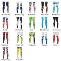 Wholesale Cycling Legwarmer Windproof UV Protection Bike Bicycle Leg Warmer Guard Knee Leg Sleeves Covers Basketball Legwarmers Sb049