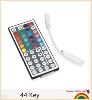 Wholesale 44 Keys Wireless IR Remote Controller Dimmer For RGB Led Strip Light