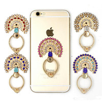 Wholesale 2016 New and hot Creative phone ring stents Metal backing ring mobile phone holder Cell Phone bracket love metal Degree ring Holder