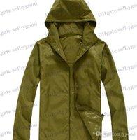Wholesale Men s Raincoats soft shell Waterproof Jackets hunting clothes women s casual rain coat clothing camping hiking Face rain coats