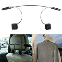 Wholesale pc Stainless Steel Car Auto Seat Headrest Coat Hanger Clothes Jackets Suits Holder