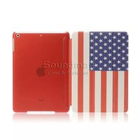 Wholesale High Quality PU Tablet Siamese Stand Flip Case For iPad air mini inch