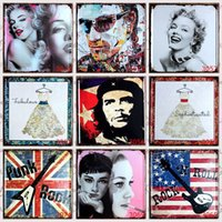Wholesale 1PCS x30cm Vintage Metal Tin Signs Plates Metal Board Home Bar Club Wall Decoration Retro Metal Plaque
