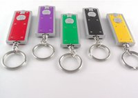 advertise gift box - Tetris LED Keychain Light Box type Key Chain Light Key Ring LED advertising promotional creative gifts small flashlight Keychains Lights
