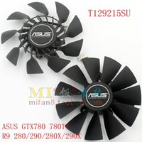 All asus replacement fan - EVERFLOW T129215SU mm Graphics double fan Replacement x mm V A Pin for ASUS GTX780 GTX780TI R9 X X