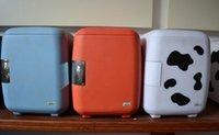 Wholesale Yavid etc cooler bag cosmetics car refrigerator cow refrigerator car dual W V V