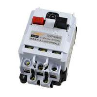 ac motor protection - NO NC AC V A Motor Protection Switch Circuit Breaker