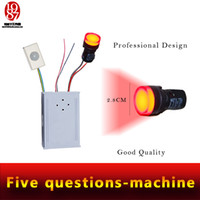 answers games - Real room escape game prop question machine question and answer machine answer the questions to open lock