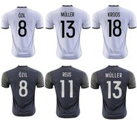Wholesale 2016 soccer Sets home Away Football Shirts Suits Thai Quality SCHWEINSTEIGER OZIL Jerseys Germany