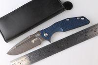 best knife design - Best Price Rike original design CPM D2 blade TC4 titanium handle folding camp hunting knife ball bearing survival outdoors knives EDC tools